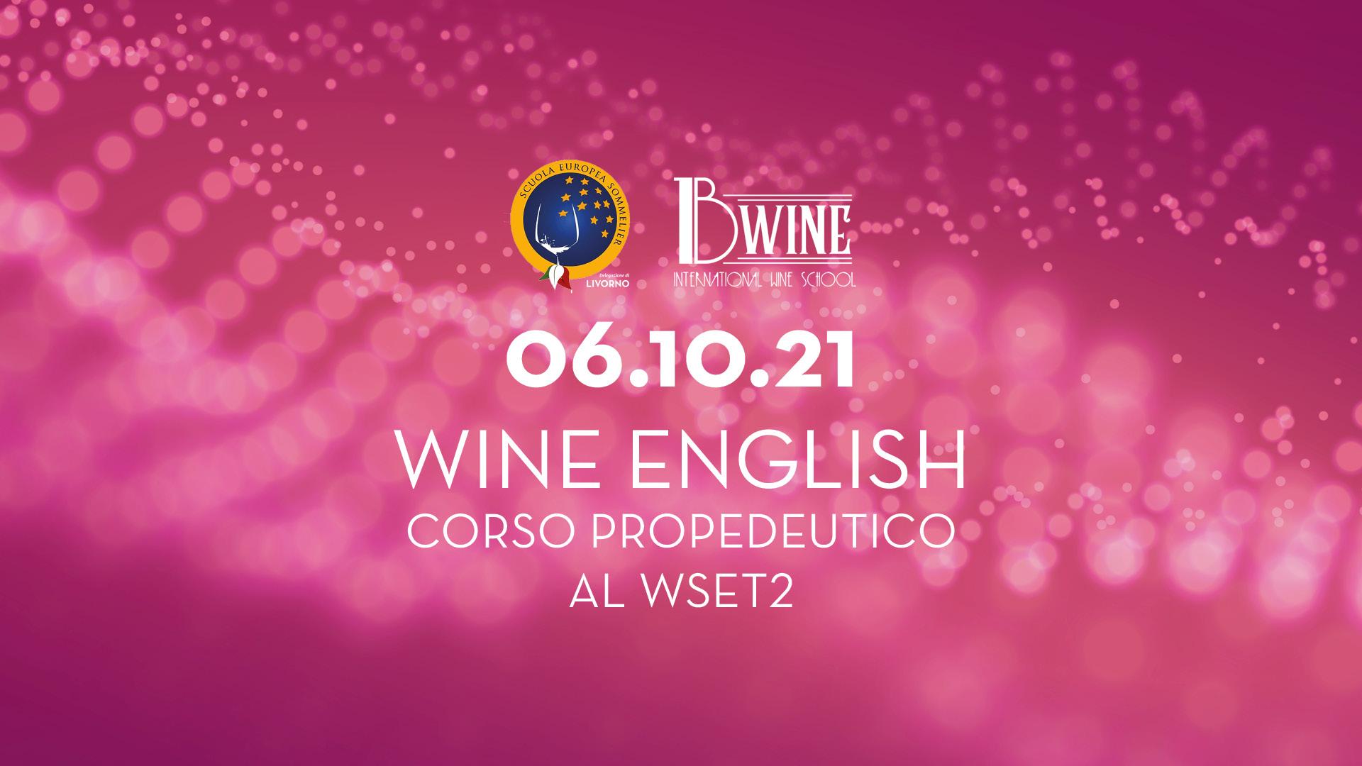 BWine corso Wine English